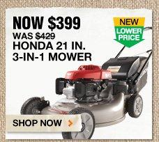 Honda 21 IN. 3-in-1 Mower