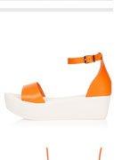 WILLS 2-Part Flatform Sandals