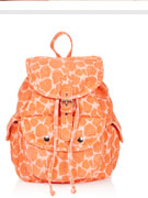 Denim Giraffe Backpack