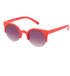 Round Preppy Sunglasses