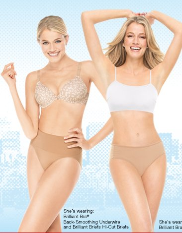 Brilliant! Take Up to 25% off when you shop ASSETS Red Hot Label Brilliant Bras & Briefs - how smart is that! *Valid 4/19/13 - 4/21/13. Shop.