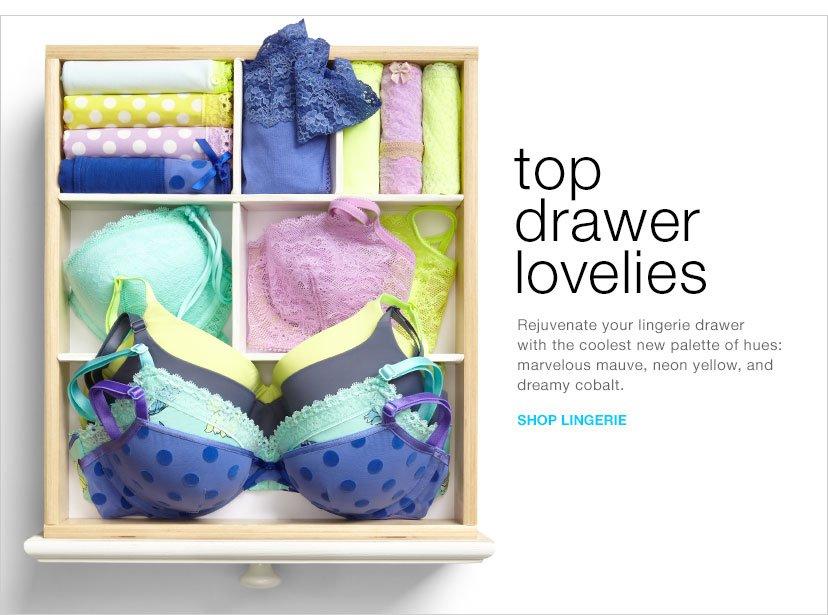 top drawer lovelies | SHOP LINGERIE