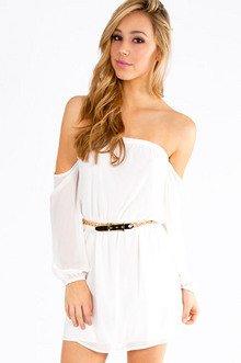 Show Me Shoulder Dress $33