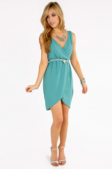 Wrap Tulip Tank Dress $39