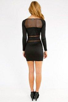 Mesh on Mesh Dress $25