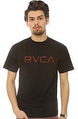 TheThe Big RVCA Tee in Black
