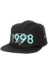 The Brilliant 1998 5 Panel Hat in Black