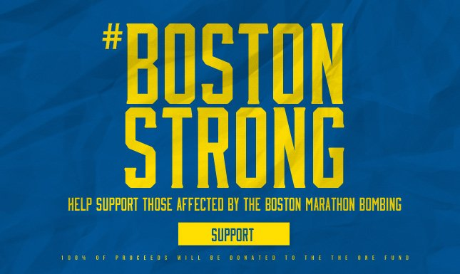 Support the Victims of the Boston Marathon Tragedy
