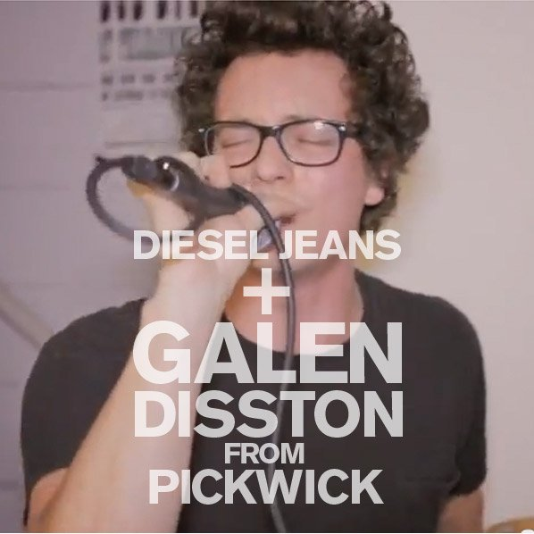 DIESEL JEANS + GALEN DISSTON FROM PICKWICK