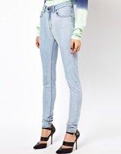 Just Female Stroke High Waist Skinny Jeans