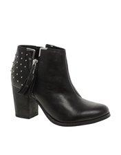 Bronx Leather Lea Zip Boot