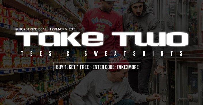 Take Two: Tees & Sweatshirts Refresh