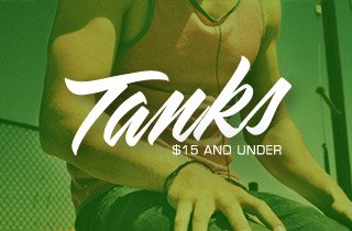 Tanks: $15 and Under