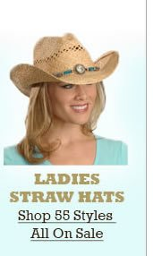 All Ladies Straw Hats on Sale