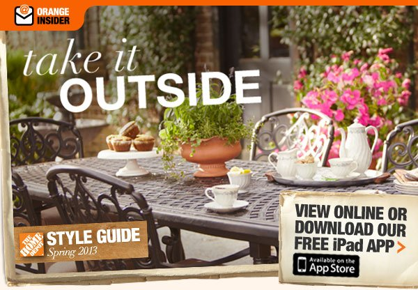 Take It Outside Spring Style Guide 2013