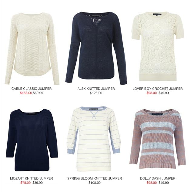shop Spring Knits