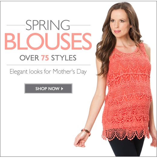 Spring Blouses: elegant looks for Mother's Day - Over 75 Styles