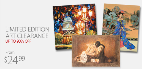 Limited Edition Art Clearance