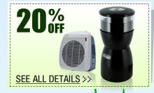 20% OFF SELECT DELONGHI HOME & SMALL KITCHEN APPLIANCES!*