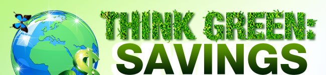 THINK GREEN: SAVINGS EGGXTREME!