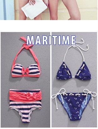 Swimwear Trends - Maritime