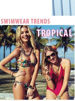 Swimwear Trends - Tropical
