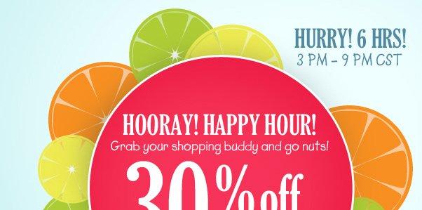 HOORAY For Happy Hour!