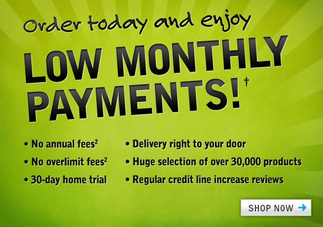 Low Monthly Payments