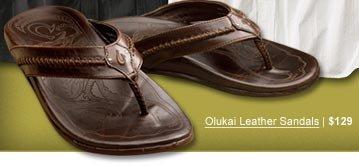 Olukai Leather Sandals | $129