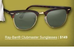 Ray-Ban® Clubmaster Sunglasses | $149