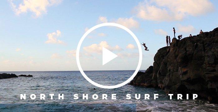 North Shore Surf Trip Video