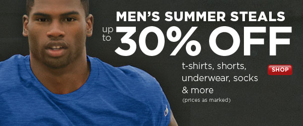 SHOP Men's Summer Steals SALE