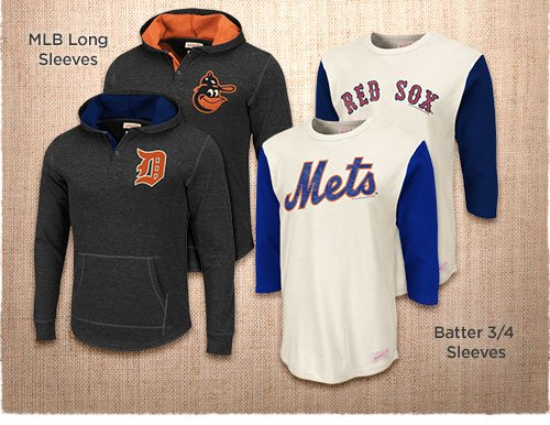MLB Longsleeves - Batter 3/4 Sleeves