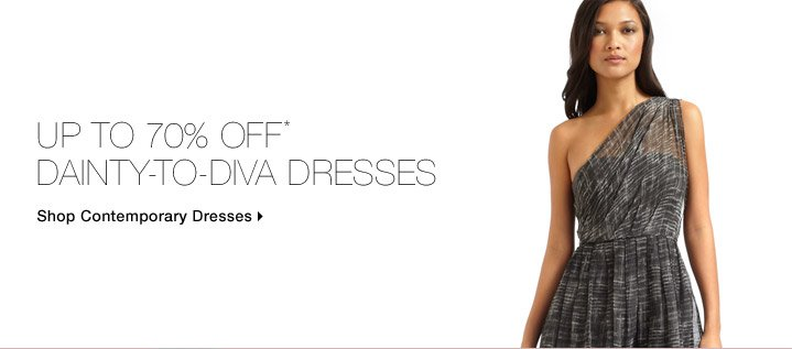 Up To 70% Off* Dainty-To-Diva Dresses