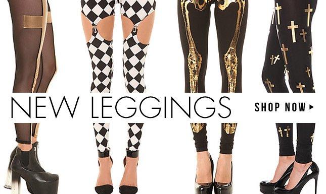 All New Leggings for Spring!