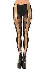 The Holy Roller Legging in Gold