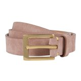 Pink Suede Thread Through Waist Belt