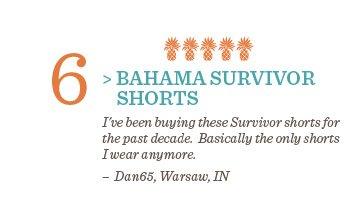 Bahama Survivor Shorts