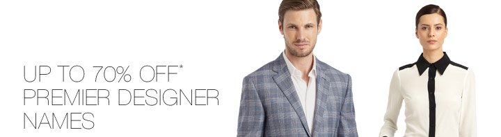 Up To 70% Off* Premier Designer Names