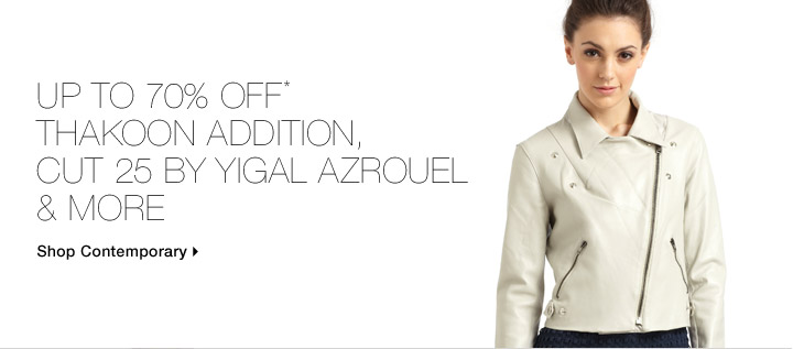 Up To 70% Off* Thakoon Addition, Cut 25 By Yigal Azrouel & More