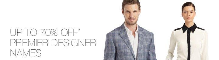 Up To 70% Off* Premier Designer Names