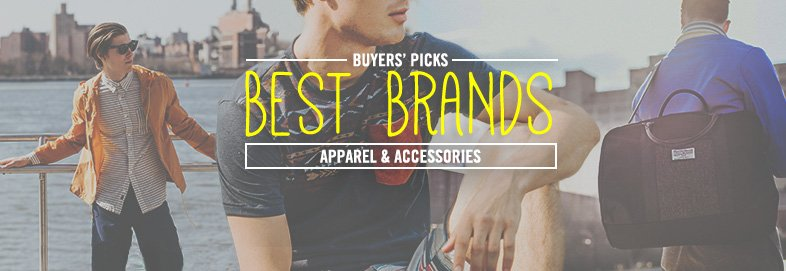 Shop Brands We Love: Apparel & More