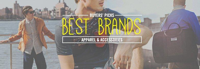Shop Brands We Love: Apparel & More