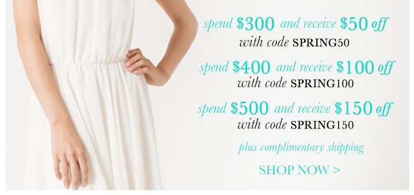 Spring Fling Sale - Shop Now