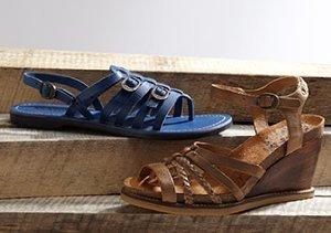 Between Seasons: Kickers Sandals, Boots & More