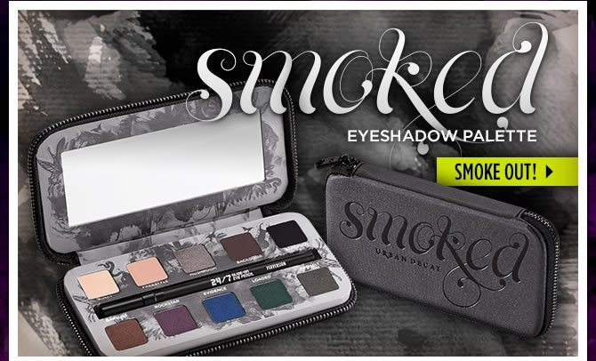 Smoked Eyeshadow Palette - Smoke Out! >