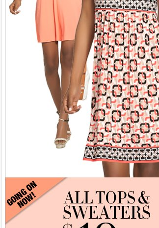 It's getting warmer. Dress accordingly! Shop Now!