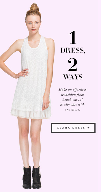 1 Dress, 2 Ways - Clara Dress