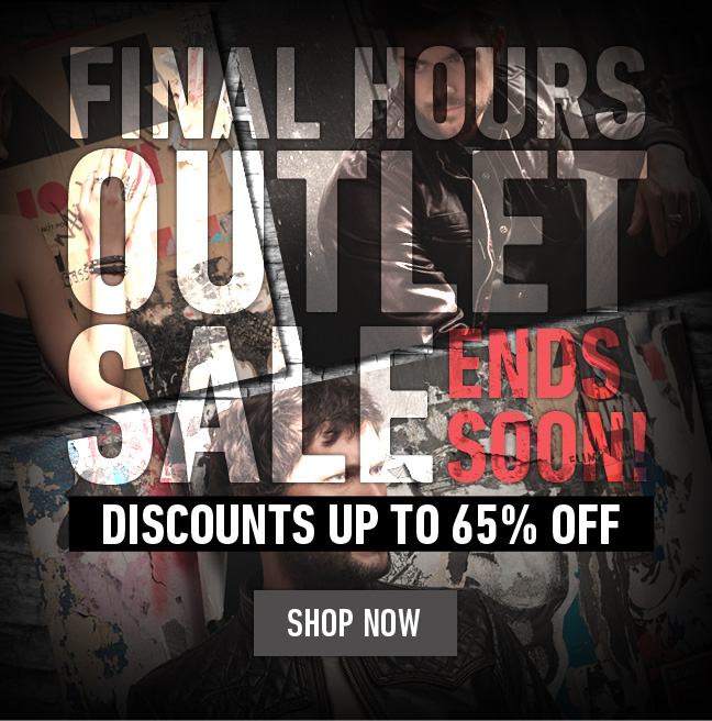 Hurry! Affliction Outlet Closing in just a few hours