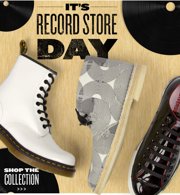 It's Record Store Day! Shop Our Record-Inspired Collection.